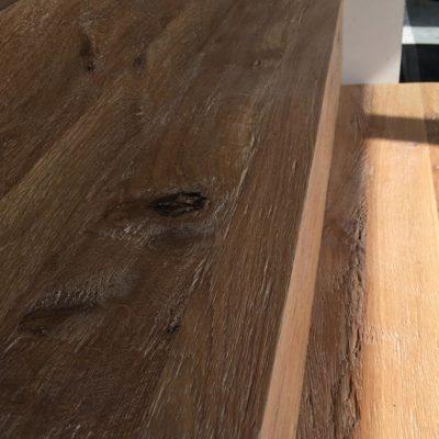 Moderne Retro-Wood trap